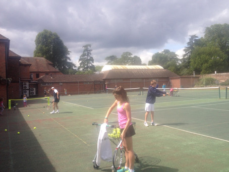 Marlow Tennis Academy directed by Richard Mole sees a huge increase in play