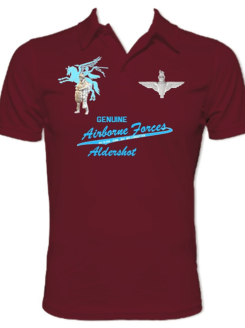 Airborne Soldier Aldershot  - Performance Polo Shirt