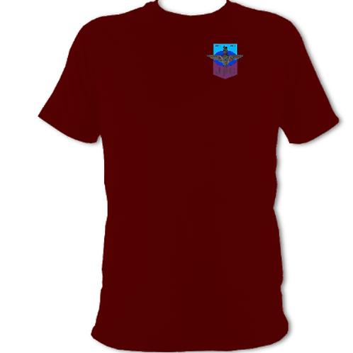 Junior Parachute Company Subdued crest (metal effect cap badge)