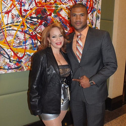 The famous Mirian Cruz  before her performance in Manhattan & me (Yoneiry El Maestro)