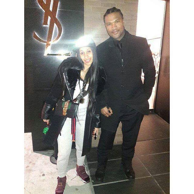 I met celebrity Cardi