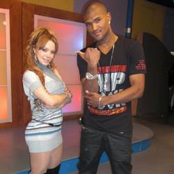 female rapper laMaterialista y Yoneiry El Maestro #Topmodels #campaign #tomford #gqstylehunt #magazi
