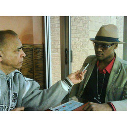 News Paper interview  in Washington Heights uptown manhattan _ Tipico Restaurant _#film #hollywood #