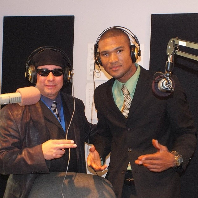 La zona radio station promoting my songs #Concert  #manhattan #Topmodels #campaign #tomford #gqstyle