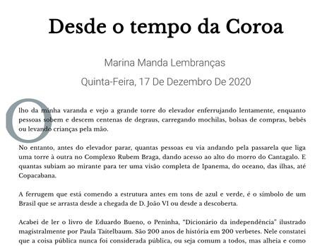 O Dicionário da Independência nas palavras de Marina Colasanti