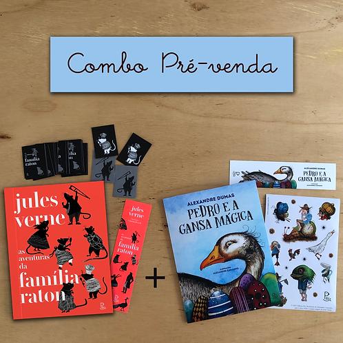 COMBO: As aventuras da família Raton + Pedro e a gansa mágica + brindes