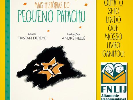 Patachu e o selo Altamente Recomendável FNLIJ