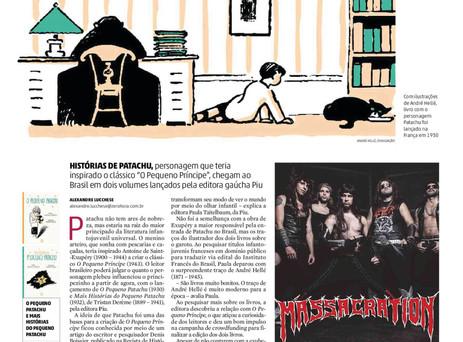 Patachu é destaque na imprensa