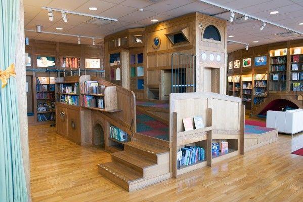 O mundo encantado da Biblioteca Pública Infantil de Estocolmo, capital da Suécia