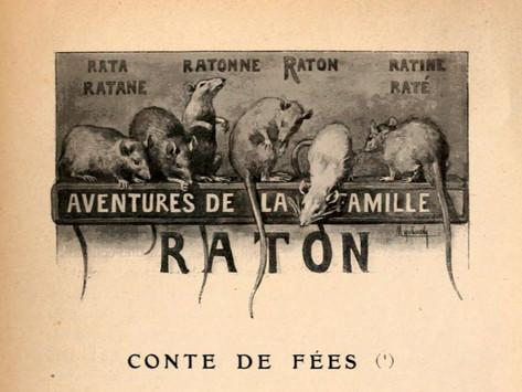 """O original em francês de """"As aventuras da Família Raton"""""""