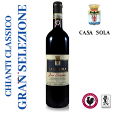 With its silky tannins and harmonic palate this pure Sangiovese wine is ideal for your Classy dining