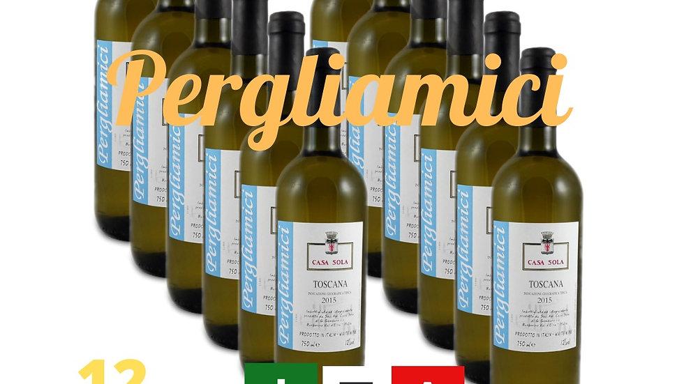 Pergliamici - Igt Toscana Bianco 2018   12 bottiglie