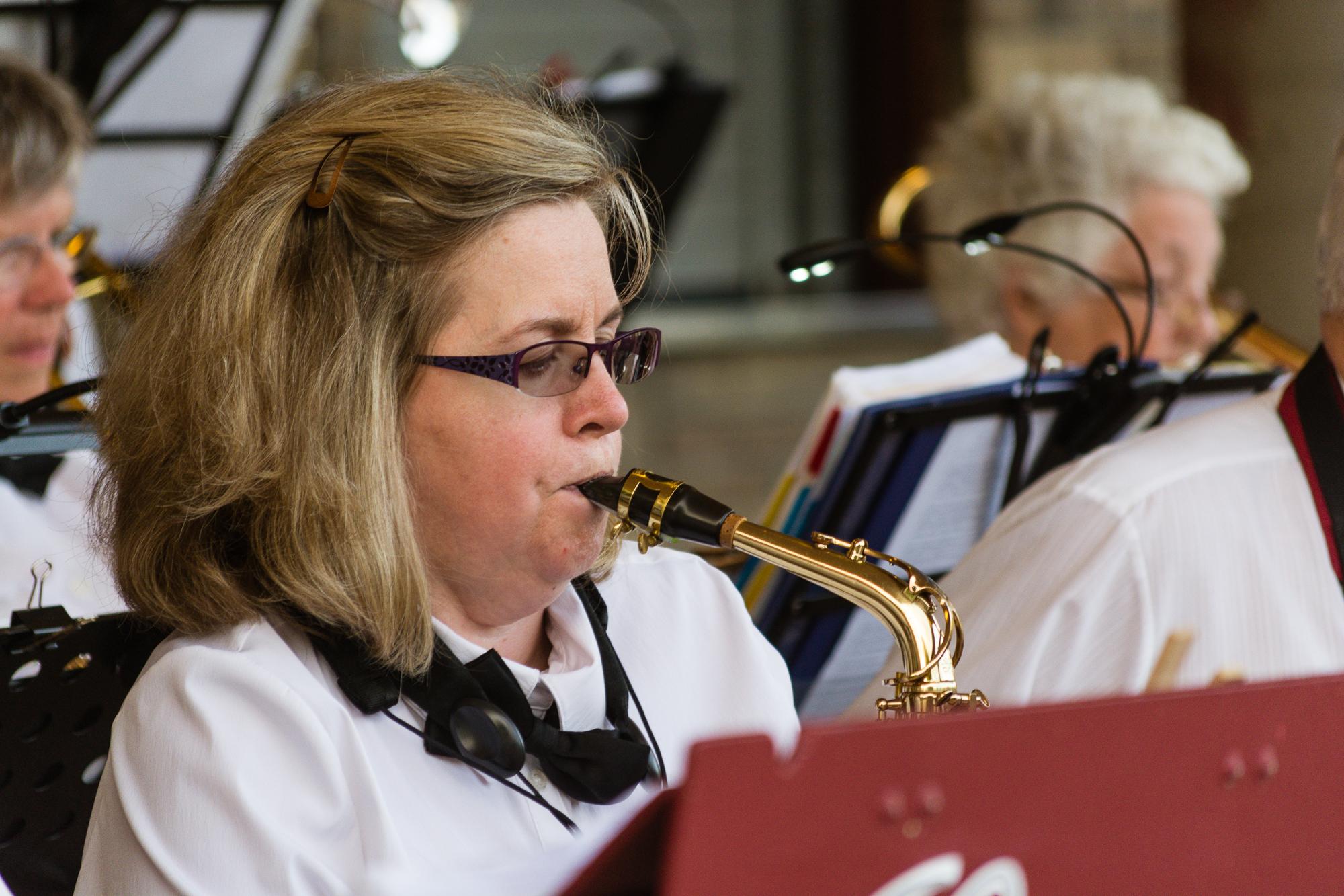 Cindy Gollinger - Alto Sax