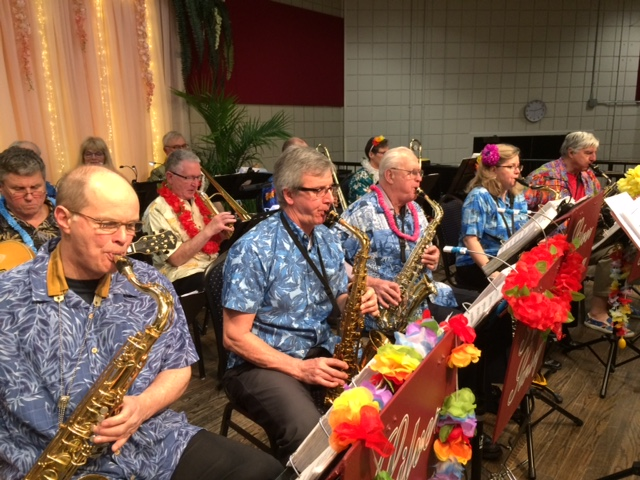 Hawaiian Night at Burlington Seniors Cen