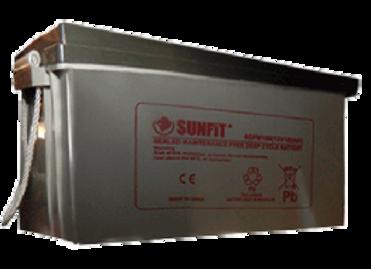 SUNFIT Solar Battery 12v 150ah