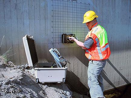 Ground penetraiting Radar, GPR, concrete locating