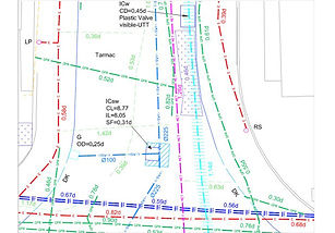Utility Mapping, AutoCAD, CAD, GIS
