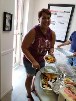 Julie - Just having fruit