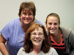 Lisa, Dee, & Abby - The three amigos