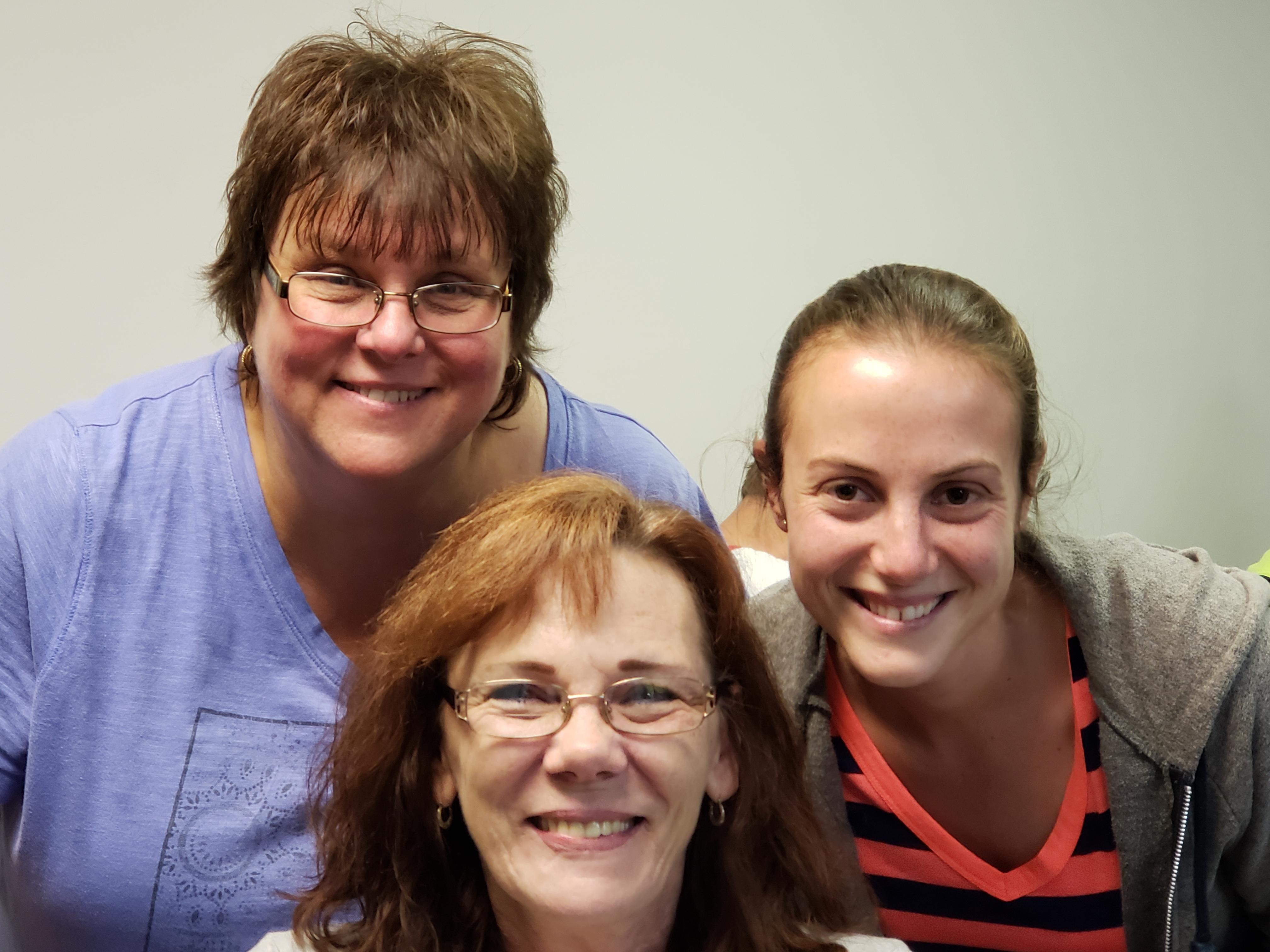Lisa, Dee, & Abby