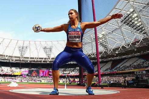 Valarie+Allman+16th+IAAF+World+Athletics