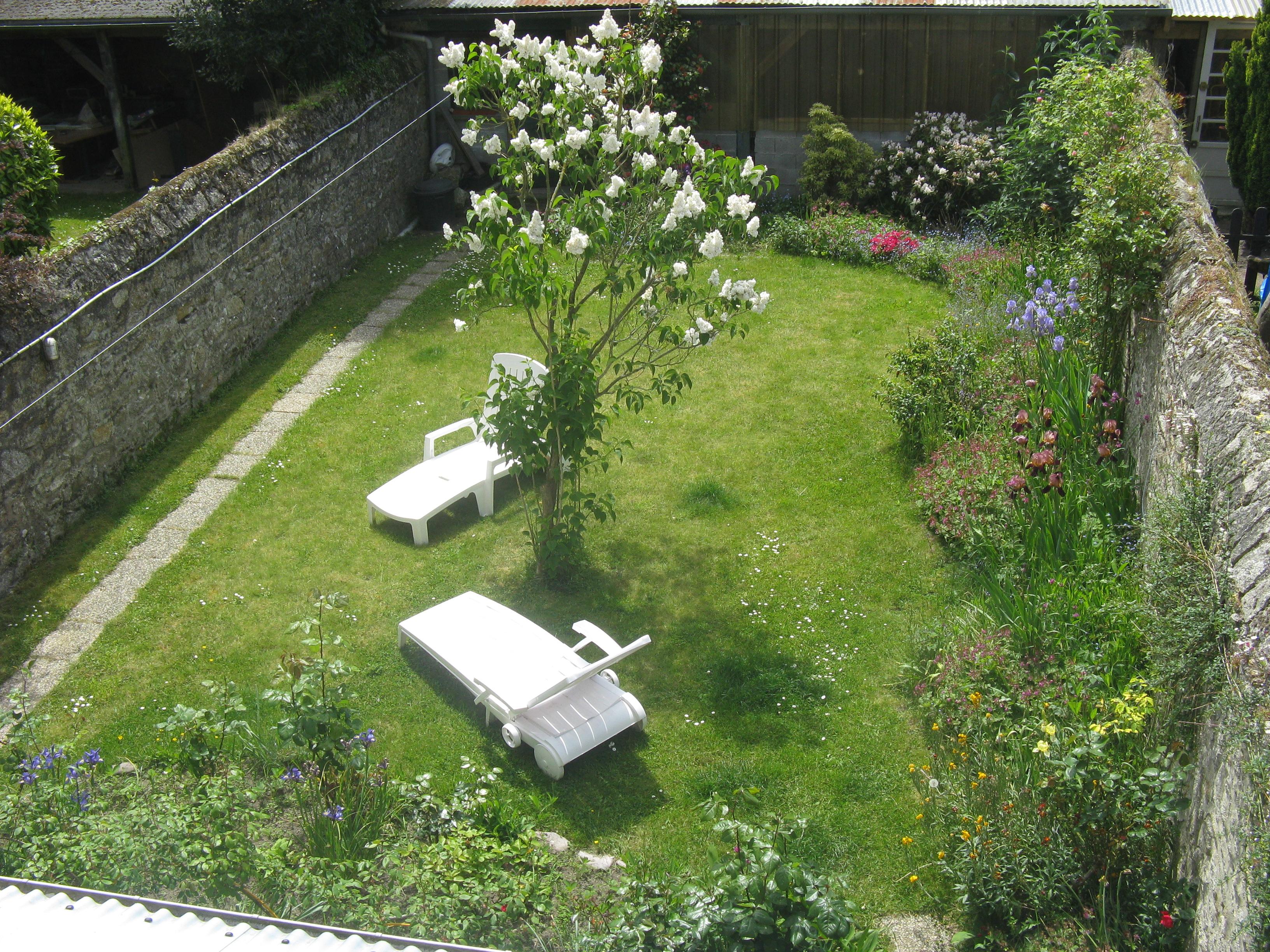 jardin vu d'en haut