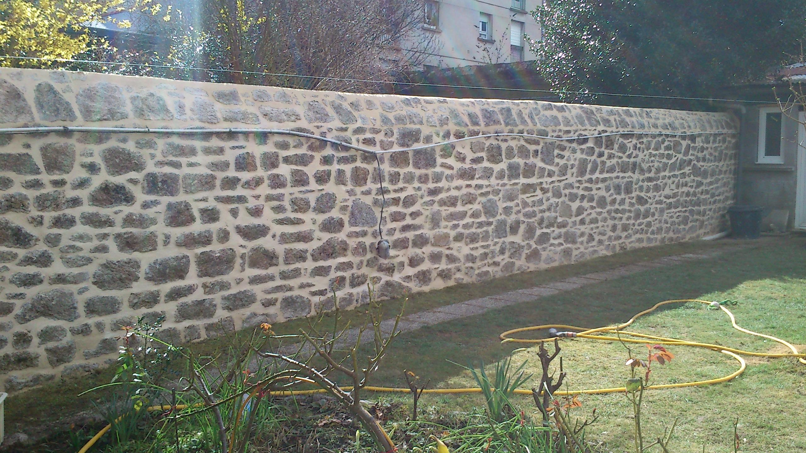 Mur fini