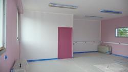 """Salle """"Rose"""" en cour de rénovation"""