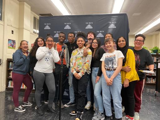 Moth StorySlam: Turning Students to Storytellers