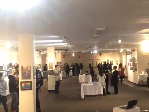 Art Gallery Time-lapse Video 2020