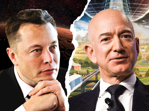 The Battle of the Two Space Billionaires
