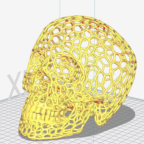 Voronoi Skull