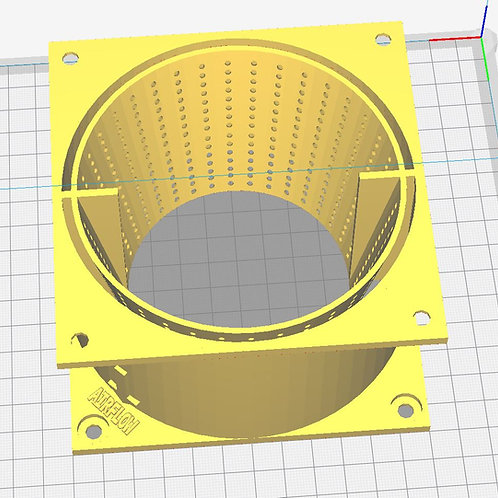 Antminer Silencer v2 - Intake Dual Flange