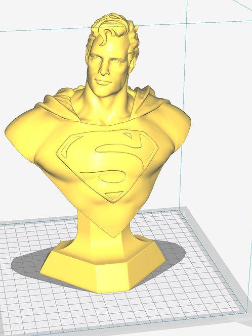 "Superman Bust - 9.5"" Tall"