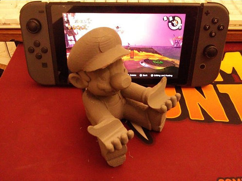 Nintendo Switch Stand Mario 3D print printed