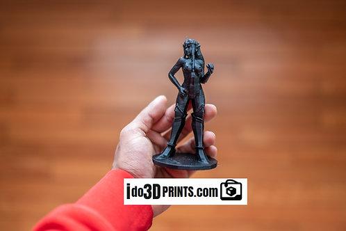 Zelda (nude) statue 3d print