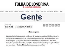 Folha de Londrina 10/05/2016