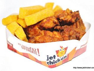 A embalagem do frango frito é importante?