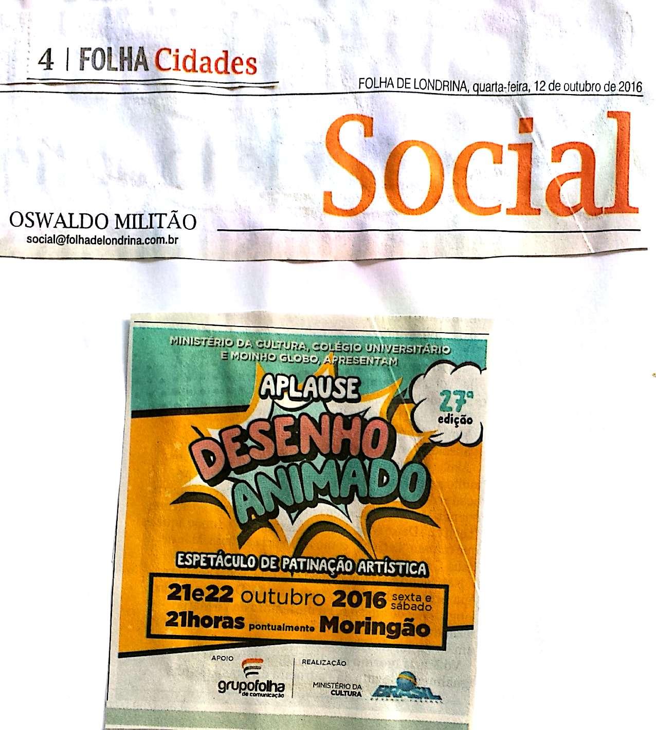 aplause 2016 folha de londrina 8 e 9