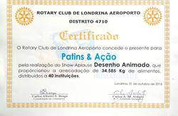 aplause 2016 certificado dancing 2
