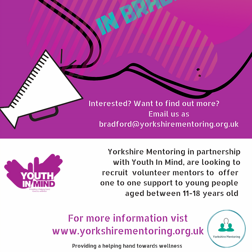 Volunteers wanted across Bradford to support young people