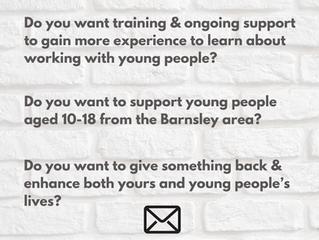 Barnsley Mentor Recruitment Launch