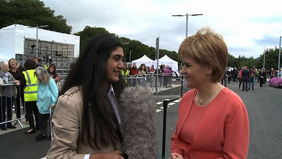 Zoë Daniels interviews Scotland's First Minister Nicola Sturgeon