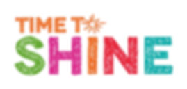 Time To Shine logo - Scottish Government through Creative Scotland
