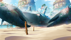 100_Bg_Paroa-Crabship-FrontView-Ext_clr.