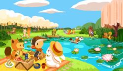 TakiTanuki_picnic