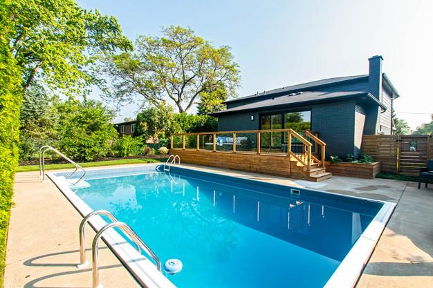 Patio : Deck : Backyard