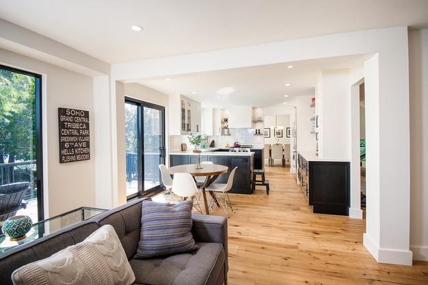 Kitchen : Sliding Doors : Flooring