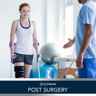 0 ADIrehab Services 3.0 13 Post Surgery