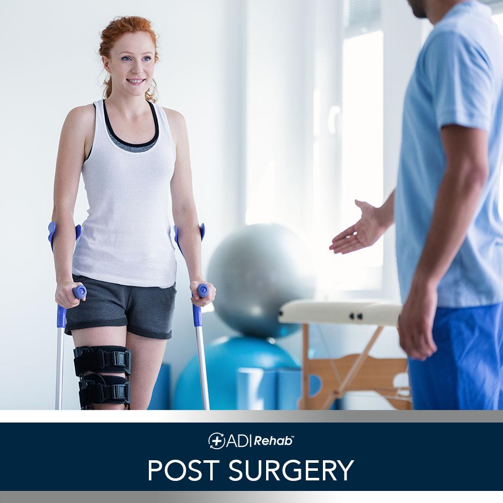 ADI rehab Services 12 Post Surgery Franj